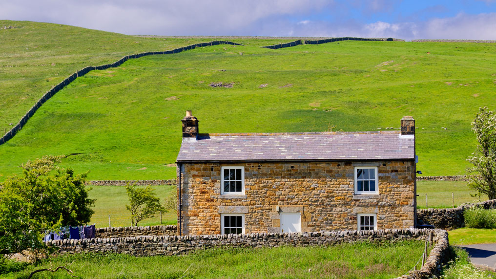 A listed building in the countryside