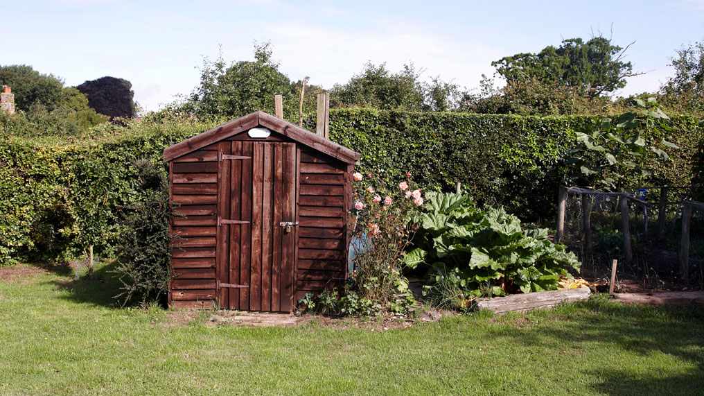 Keeping your shed and garden safe